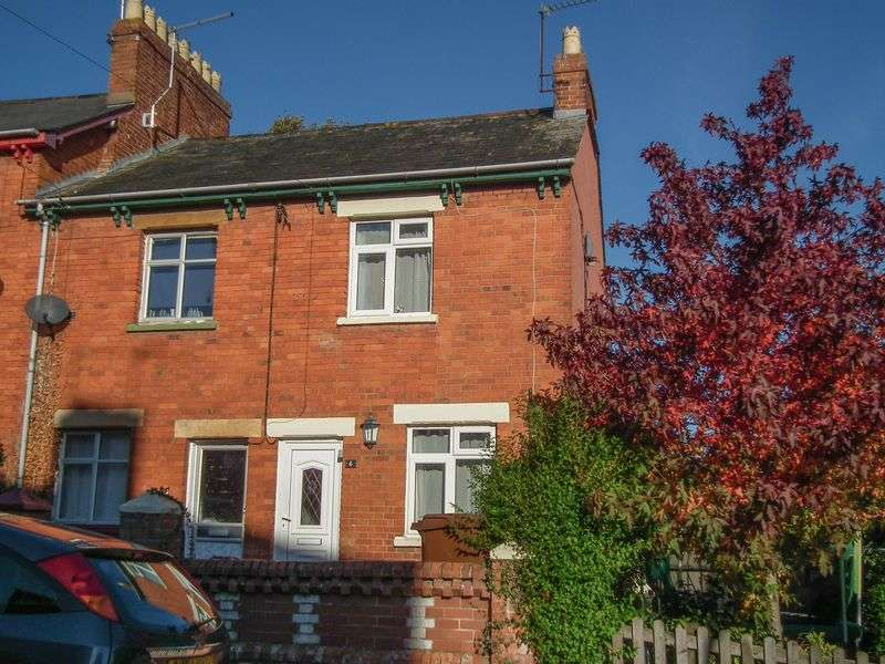 2 Bedrooms Terraced House for sale in 6 Bowden Hill Terrace, Crediton