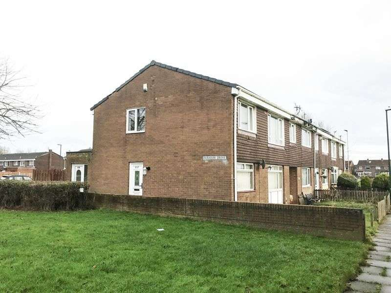 1 Bedroom Flat for sale in Durham Drive, Fellgate Estate, Jarrow