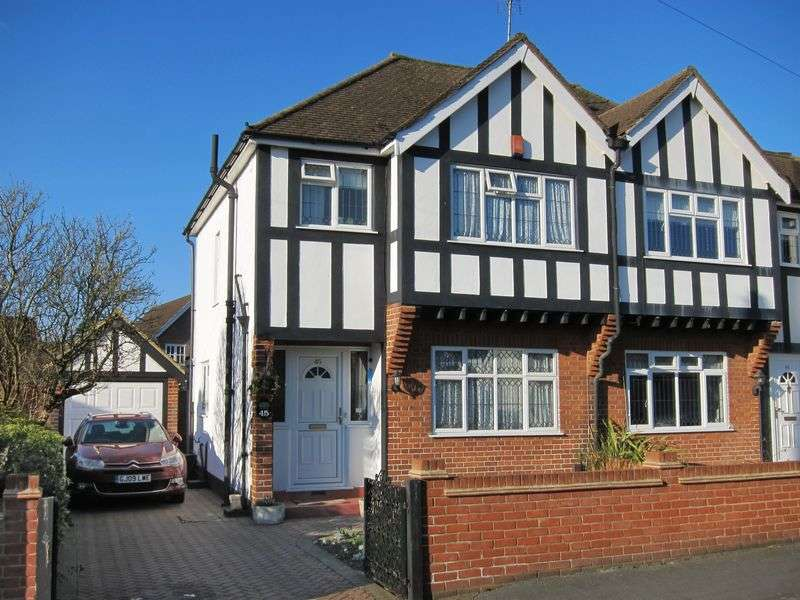 3 Bedrooms Semi Detached House for sale in Albert Road, Englefield Green
