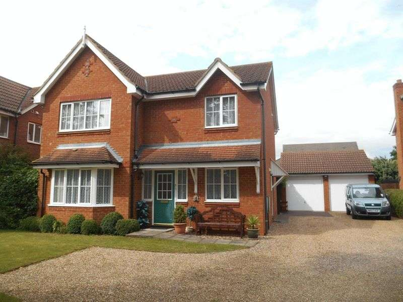 4 Bedrooms Detached House for sale in Dorsey Drive, Bedford