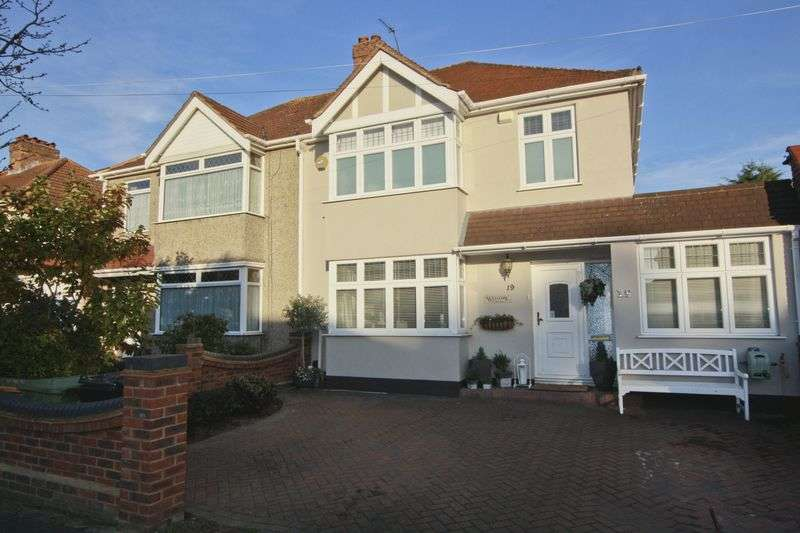 4 Bedrooms Semi Detached House for sale in Elmhurst Road, Mottingham SE9