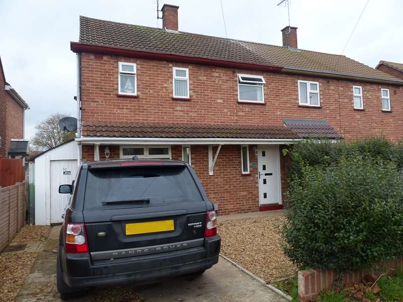 2 Bedrooms Semi Detached House for sale in Central Avenue, Dogsthorpe, Peterborough, PE1 4LW