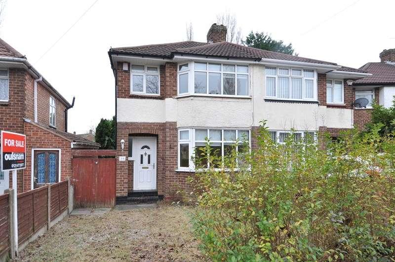 3 Bedrooms Semi Detached House for sale in Edenhurst Road, Longbridge, Birmingham