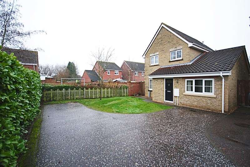 4 Bedrooms Detached House for sale in Brushmakers Way, Roydon, Diss
