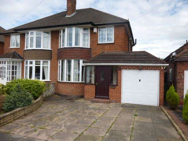 3 Bedrooms Semi Detached House for sale in Farmstead Road, Solihull