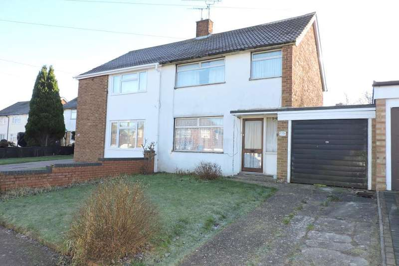 3 Bedrooms Semi Detached House for sale in Mendip Way, Luton, Bedfordshire, LU3 3JJ