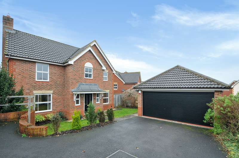4 Bedrooms Detached House for sale in Firecrest Road, Basingstoke, RG22