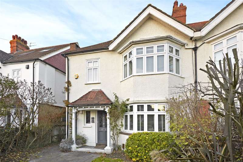 4 Bedrooms Semi Detached House for sale in Elm Tree Avenue, Esher, Surrey, KT10