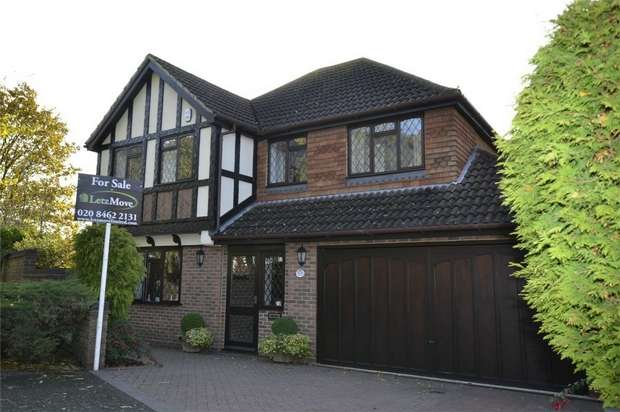 4 Bedrooms Detached House for sale in Gates Green Road, WEST WICKHAM, Kent