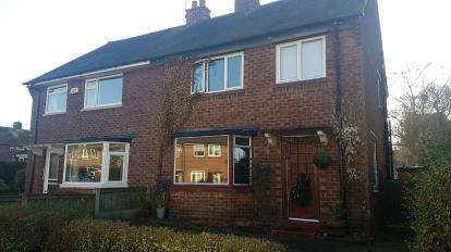 3 Bedrooms Semi Detached House for sale in Beech Road, Alderley Edge, Cheshire