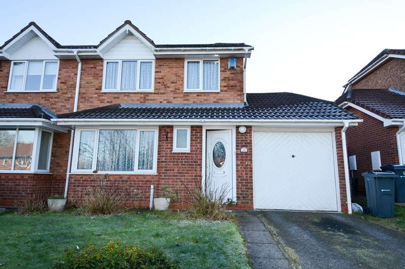 3 Bedrooms Semi Detached House for sale in Saxon Wood Close, Northfield, Birmingham