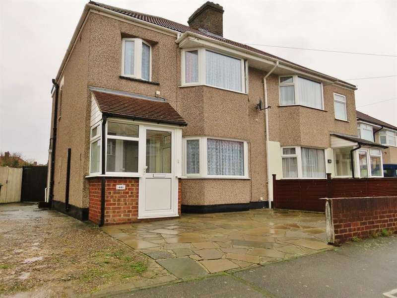 3 Bedrooms Semi Detached House for sale in Sutcliffe Road, Welling, Kent, DA16 1NL