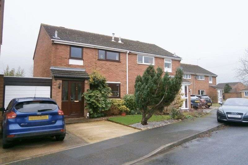 3 Bedrooms Semi Detached House for sale in Glebeland Drive, Tewkesbury