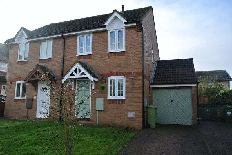 2 Bedrooms Semi Detached House for sale in Yalts Brow, Emerson Valley, Milton Keynes