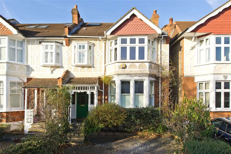 6 Bedrooms Semi Detached House for sale in Kenilworth Avenue, London, SW19
