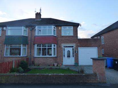 3 Bedrooms Semi Detached House for sale in Braemar Drive, Sale, Trafford, Greater Manchester