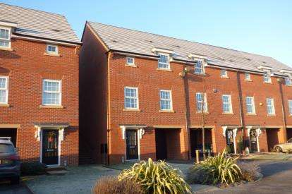 3 Bedrooms End Of Terrace House for sale in Jamestown Avenue, Chapelford Village, Warrington, Cheshire