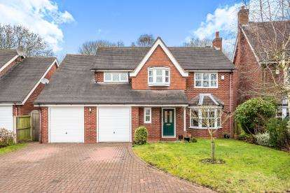 4 Bedrooms Detached House for sale in Stacey Gardens, Gnosall, Stafford, Staffordshire