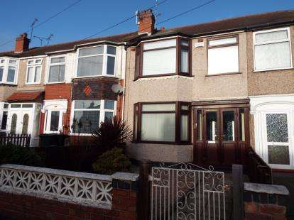 3 Bedrooms Terraced House for sale in Owenford Road, Radford, Coventry