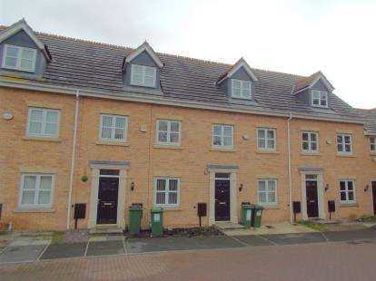 3 Bedrooms Terraced House for sale in Riseholme Close, Braunstone Town, Leicester, Leicestershire