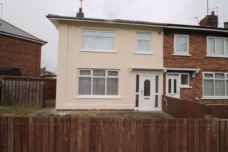 3 Bedrooms Semi Detached House for sale in Thorntree Avenue, Middlesbrough