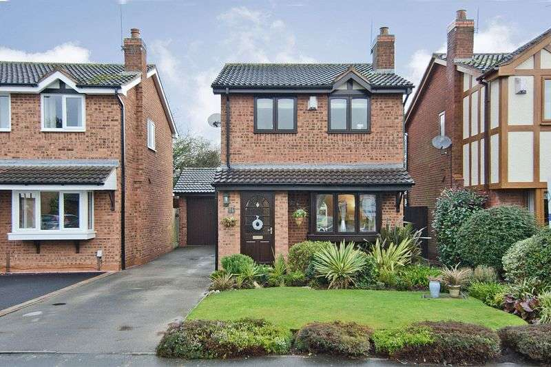 3 Bedrooms Detached House for sale in Wordsworth Close, Armitage, Rugeley