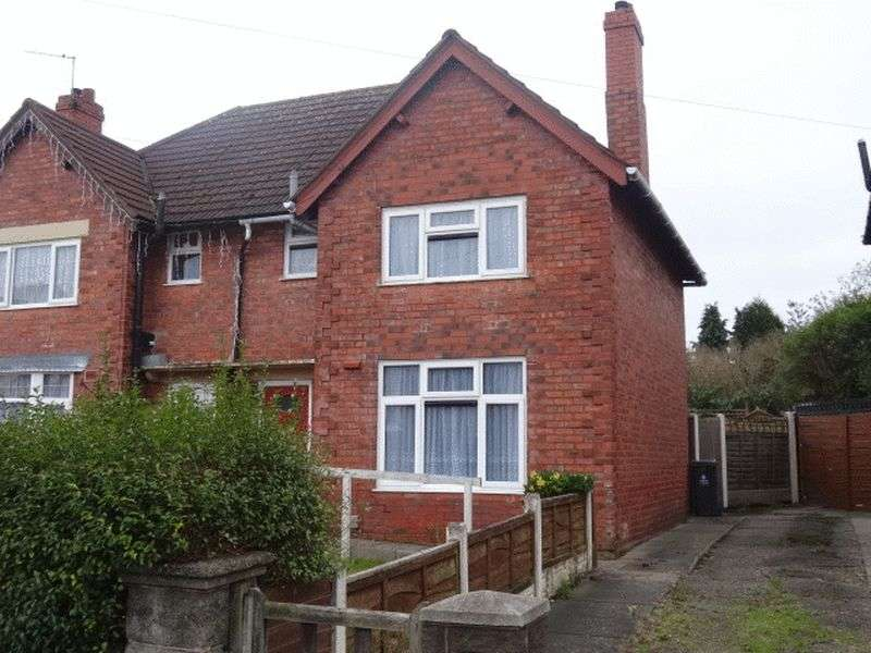 3 Bedrooms Semi Detached House for sale in Hamilton Street, Walsall