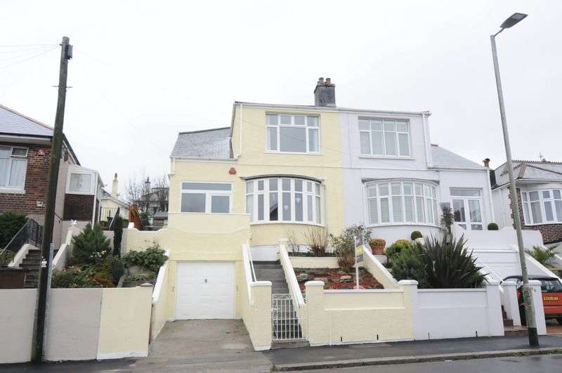 3 Bedrooms Semi Detached House for sale in Weston Park Road, Plymouth. 3 Bedroom Family home in popular area