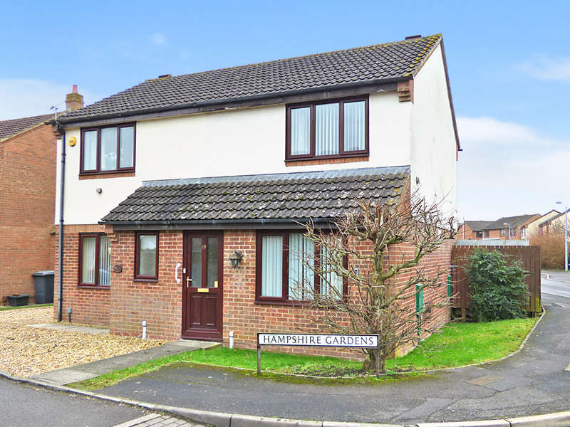 2 Bedrooms Semi Detached House for sale in Hampshire Gardens, Westbury