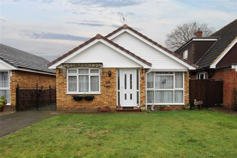 2 Bedrooms Detached Bungalow for sale in Redwood, Thorpe, Surrey, TW20