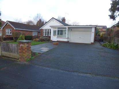 3 Bedrooms Bungalow for sale in Badger Road, Tytherington, Macclesfield, Cheshire