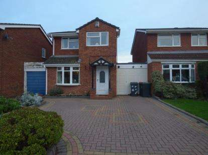 3 Bedrooms Link Detached House for sale in Sycamore Road, Kingsbury, Tamworth, Warwickshire
