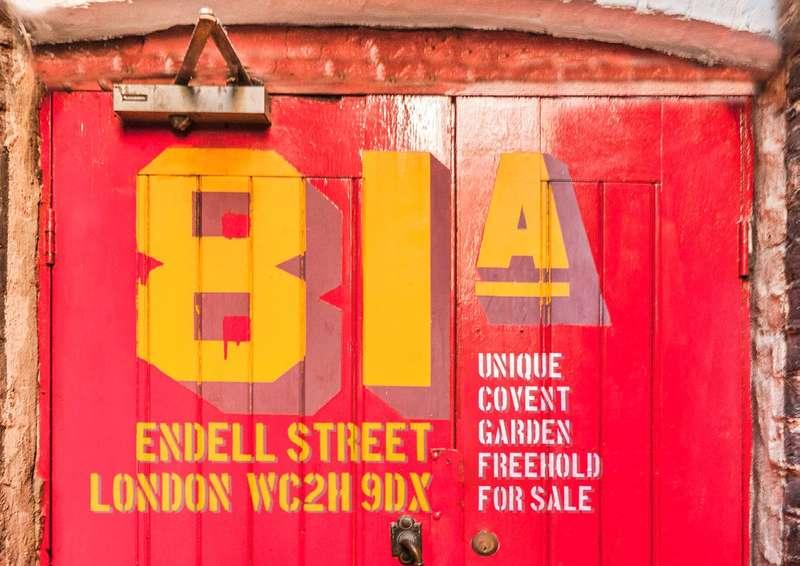 House for sale in Endell Street, Covert Garden, London, WC2H