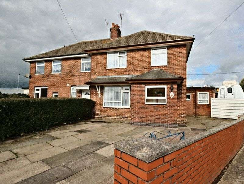 3 Bedrooms Semi Detached House for sale in Bevan Avenue, Talke Pitts