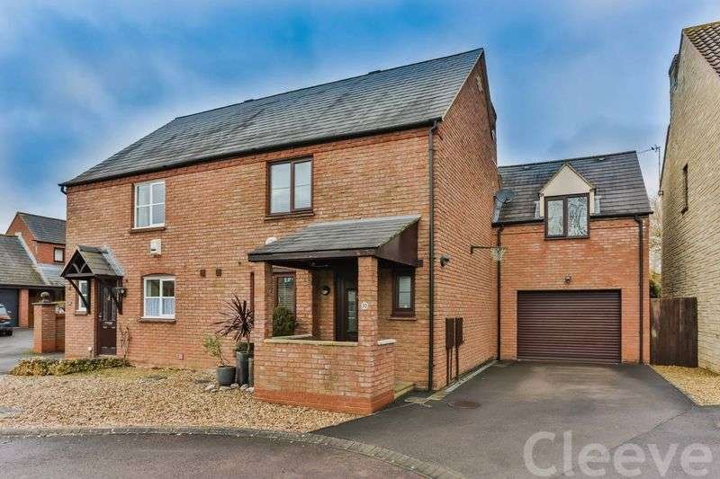 3 Bedrooms Semi Detached House for sale in Huxley Way, Cheltenham