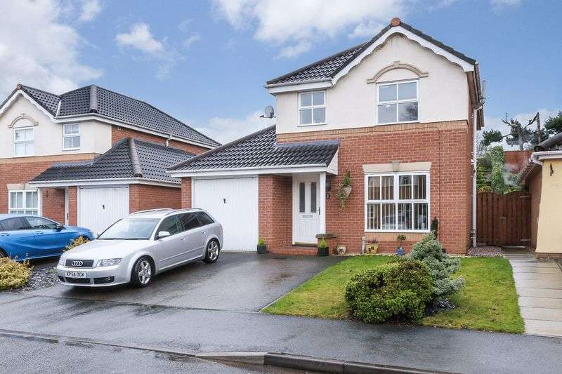 3 Bedrooms Detached House for sale in Bramhalls Park, Anderton, Northwich