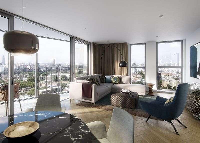 1 Bedroom Property for sale in Southwark Bridge Road, London.