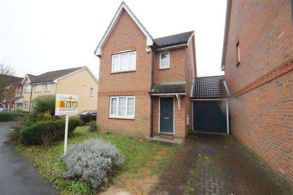 3 Bedrooms Detached House for sale in Moor Furlong, Cippenham, Slough