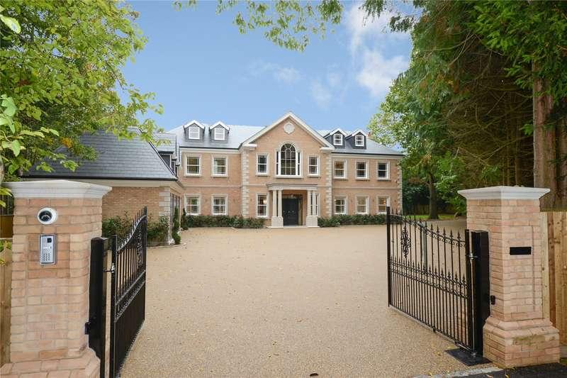 7 Bedrooms Detached House for sale in Onslow Road, Burwood Park, Walton-on-Thames, Surrey, KT12