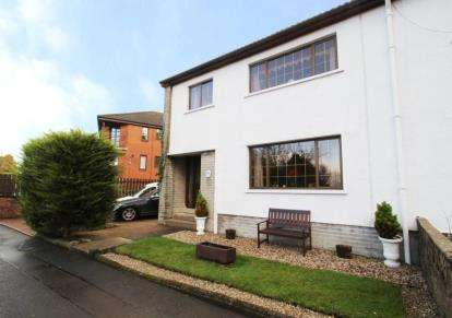 3 Bedrooms Semi Detached House for sale in Lintwhite Crescent, Bridge of Weir