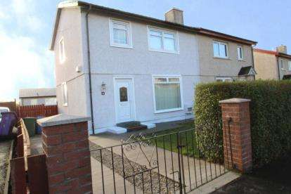 3 Bedrooms Semi Detached House for sale in Tynecastle Crescent, Springboig