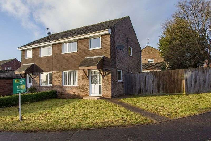 3 Bedrooms Semi Detached House for sale in Slade Close, Penarth