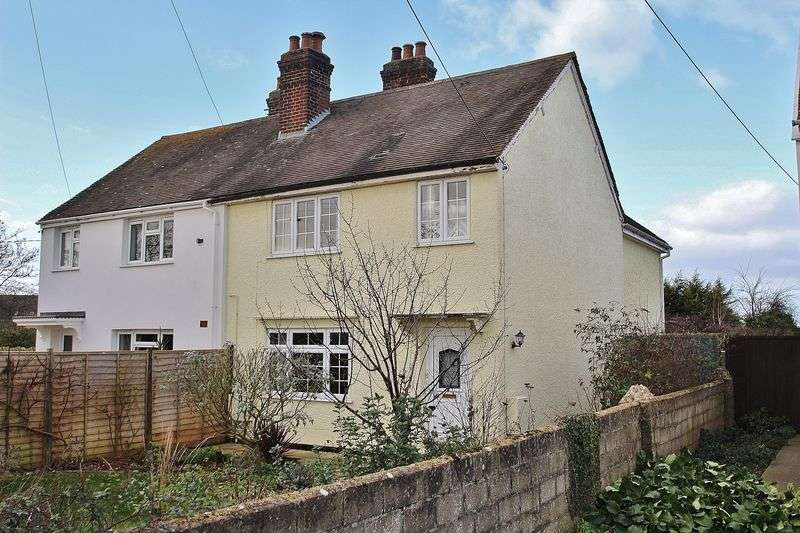 3 Bedrooms Semi Detached House for sale in BRIZE NORTON, Elm Grove OX18 3NE