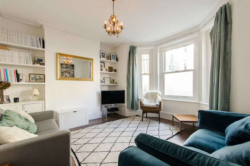 2 Bedrooms Flat for sale in Hackford Road, Oval, SW9