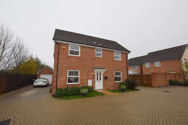 4 Bedrooms Detached House for sale in Wiseman Close, Aylesbury