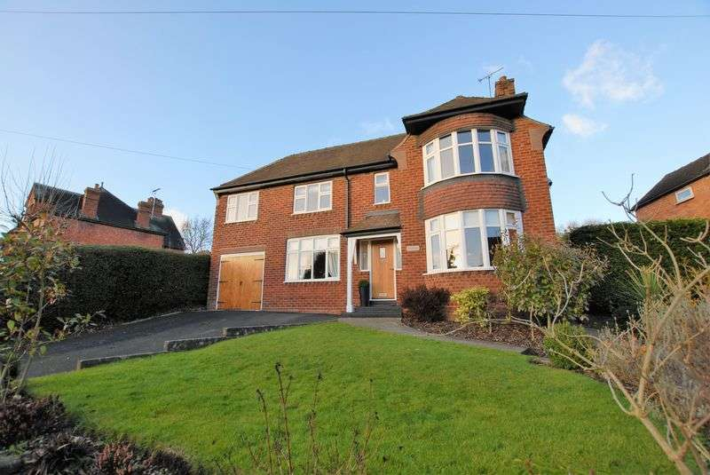 4 Bedrooms Detached House for sale in Oldfields Road, Uttoxeter