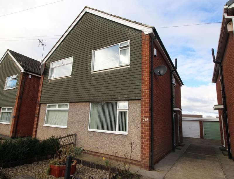2 Bedrooms Semi Detached House for sale in Longfield Road, Darlington, DL3