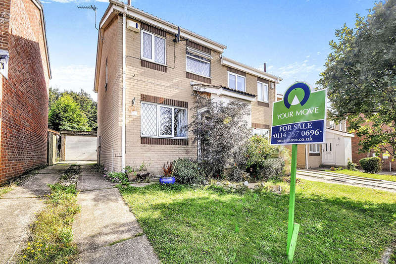2 Bedrooms Semi Detached House for sale in Rosedale Way, Bramley, Rotherham, S66