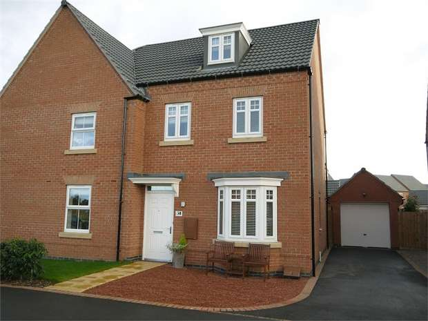 3 Bedrooms Semi Detached House for sale in Limner Street, Market Harborough, Leicestershire