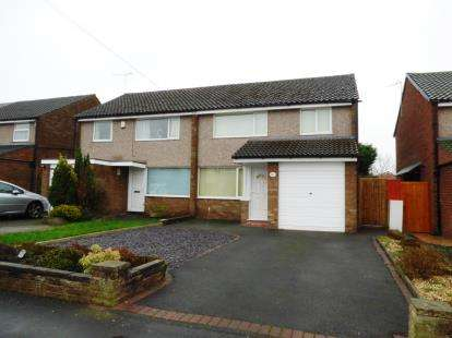 3 Bedrooms Semi Detached House for sale in Queens Road, Vicars Cross, Chester, Cheshire, CH3